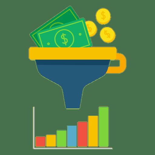 Funnel money Transparent PNG