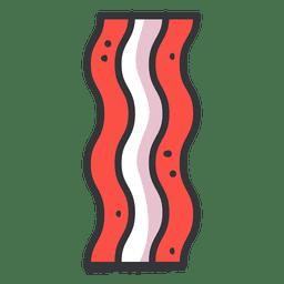 Ícone plano de baliza