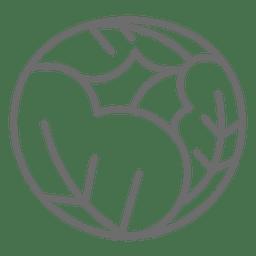 Icono de col