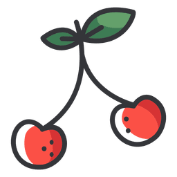 Cherry color icon