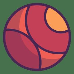 Hipster de logotipo do círculo