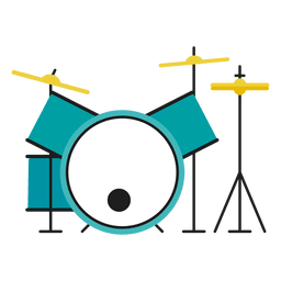 Drum kit illustration