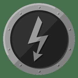 Simbolo de metal electrico