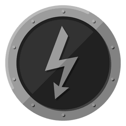 Símbolo de metal elétrico