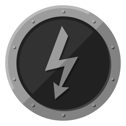Símbolo de metal elétrico Transparent PNG