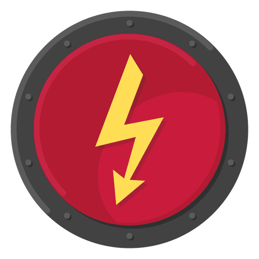 Cor do símbolo de metal elétrico Transparent PNG