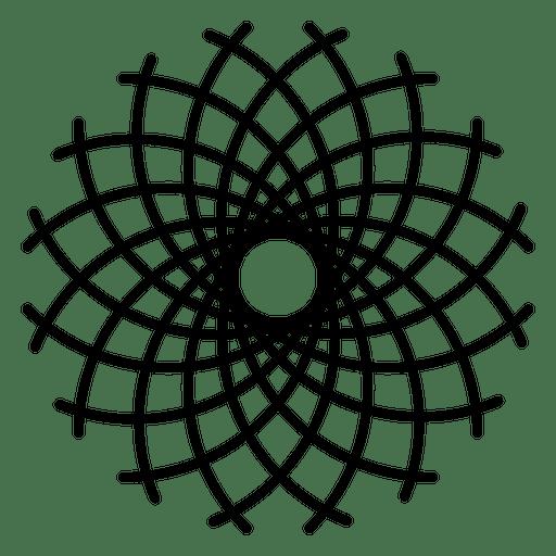 flower life logo pattern