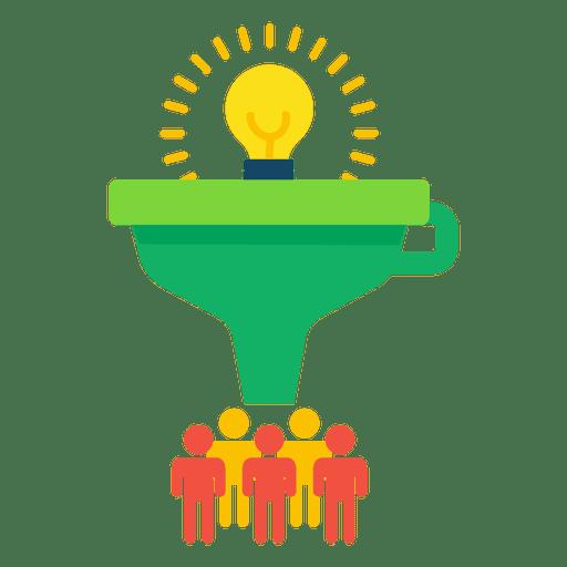 Funnel idea Transparent PNG