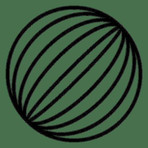 Globe logo lines png