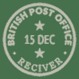 Gold-Briefmarke