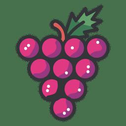 Icono de racimo de uvas