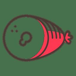 Icono de golpe de jamón