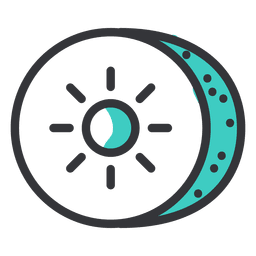 Kiwi stroke icon