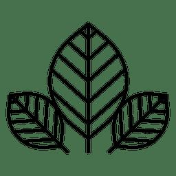 Deja la naturaleza del logotipo