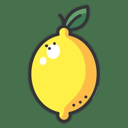 Icono de color de limón