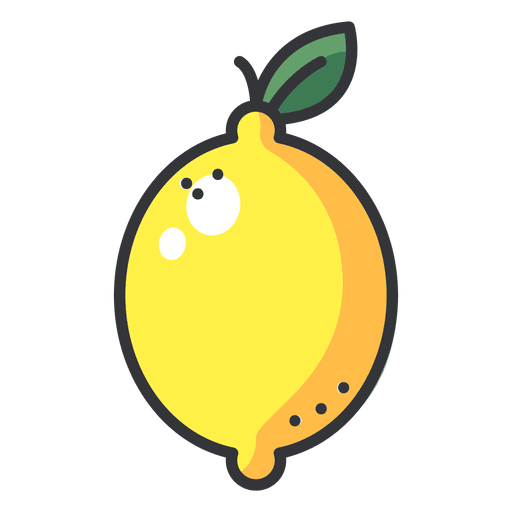 Icono de color limón