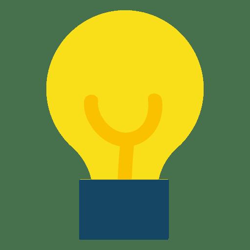 Lightbulb illustration Transparent PNG