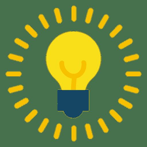 Lightbulb on Transparent PNG