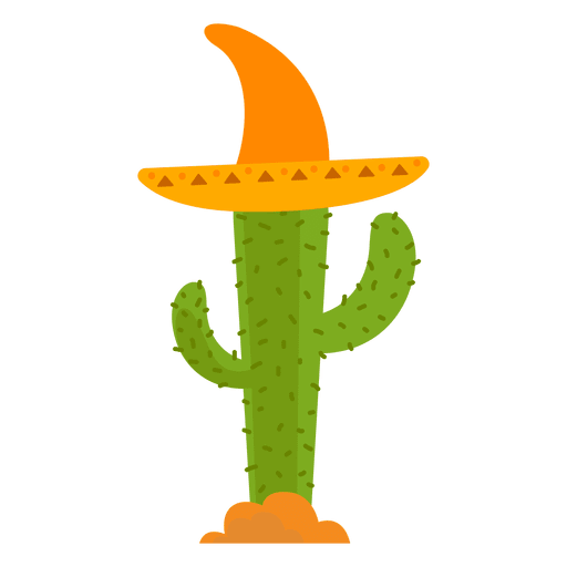 Mexico hat cactus png