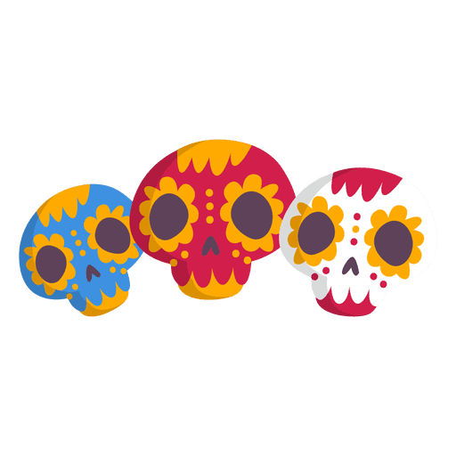 Mexico skull icon Transparent PNG