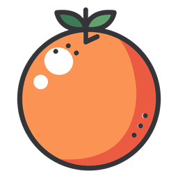 Ícone de cor laranja