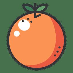 Icono de color naranja