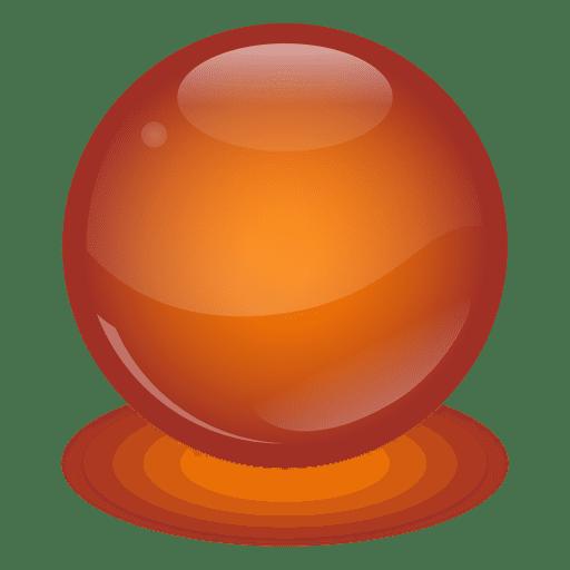 Bola de m rmol naranja descargar png svg transparente for Marmol color naranja
