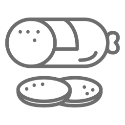 Ícone de traçado de pastilha