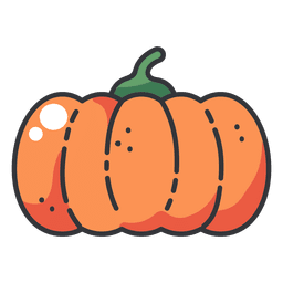 Pumpkin color icon