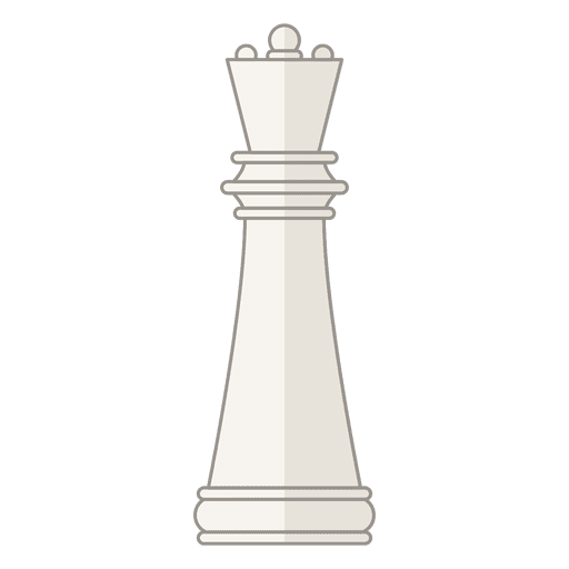 Queen chess figure white Transparent PNG