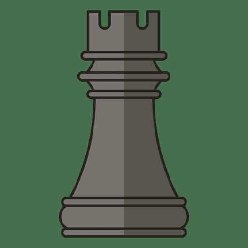 Rook figura de ajedrez