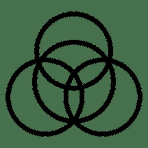 Seed Life Logo Stroke Transparent Png Svg Vector File
