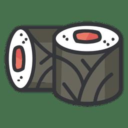 Icono de color sushi