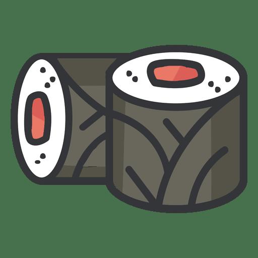 Sushi color icon
