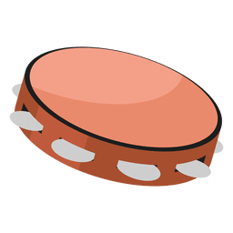 Tambourine illustration