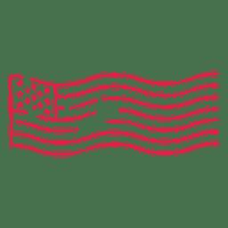 Usa Briefmarke