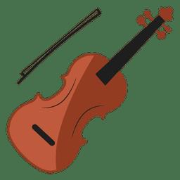 Ilustração de violino