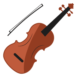 Violino ilustração