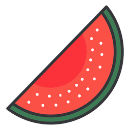Watermelon color icon