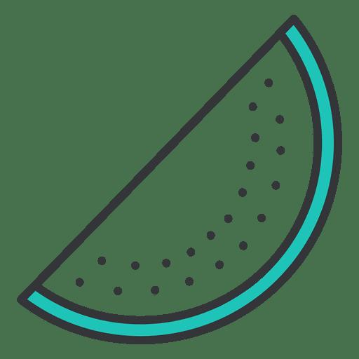 Watermelon stroke icon fruit