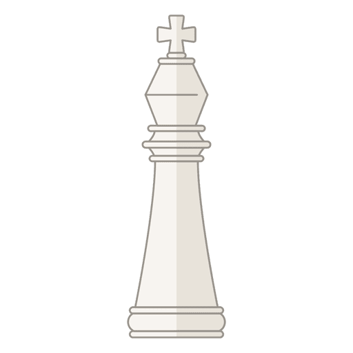 King chess figure Transparent PNG