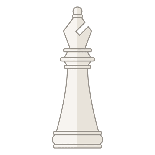 Bishop chess figure white Transparent PNG