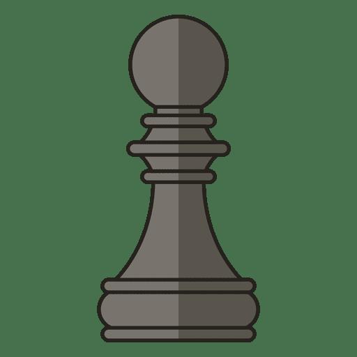 Figura de xadrez de peão Transparent PNG