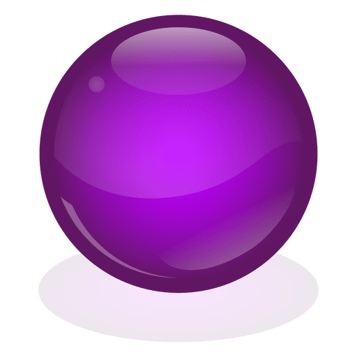 Purple marble ball Transparent PNG
