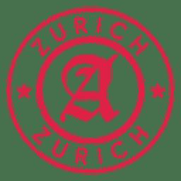 Postagem de selo de Zurique
