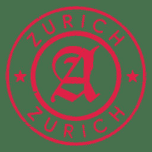 Sello de Zurich Transparent PNG