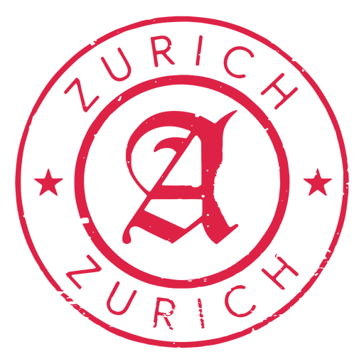 Zurich stamp post Transparent PNG