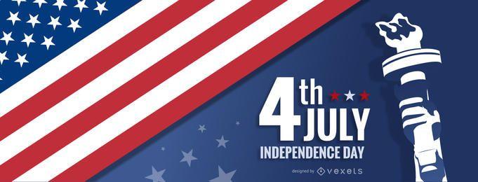 Cabeçalho do dia da independência