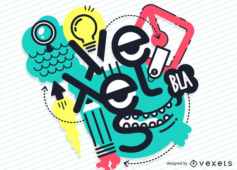Design de ilustração creativo vexels