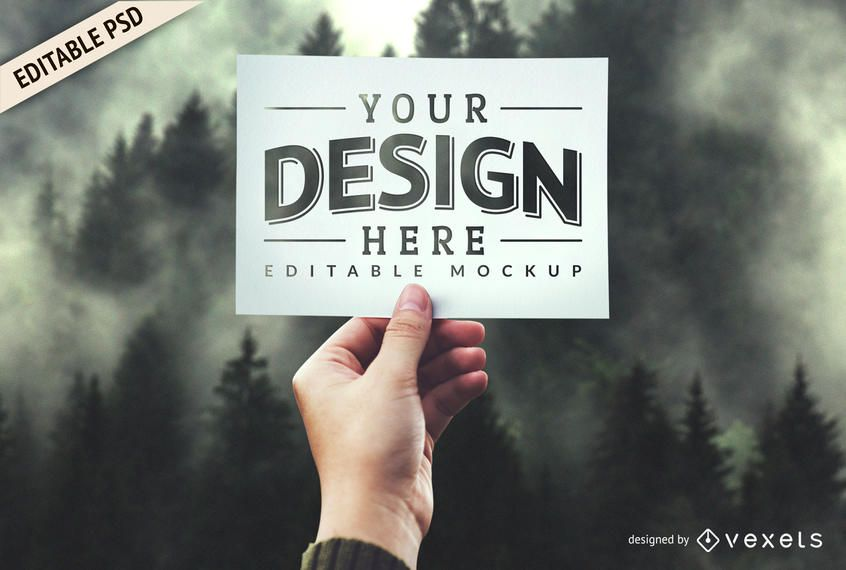 Design PSD mockup template